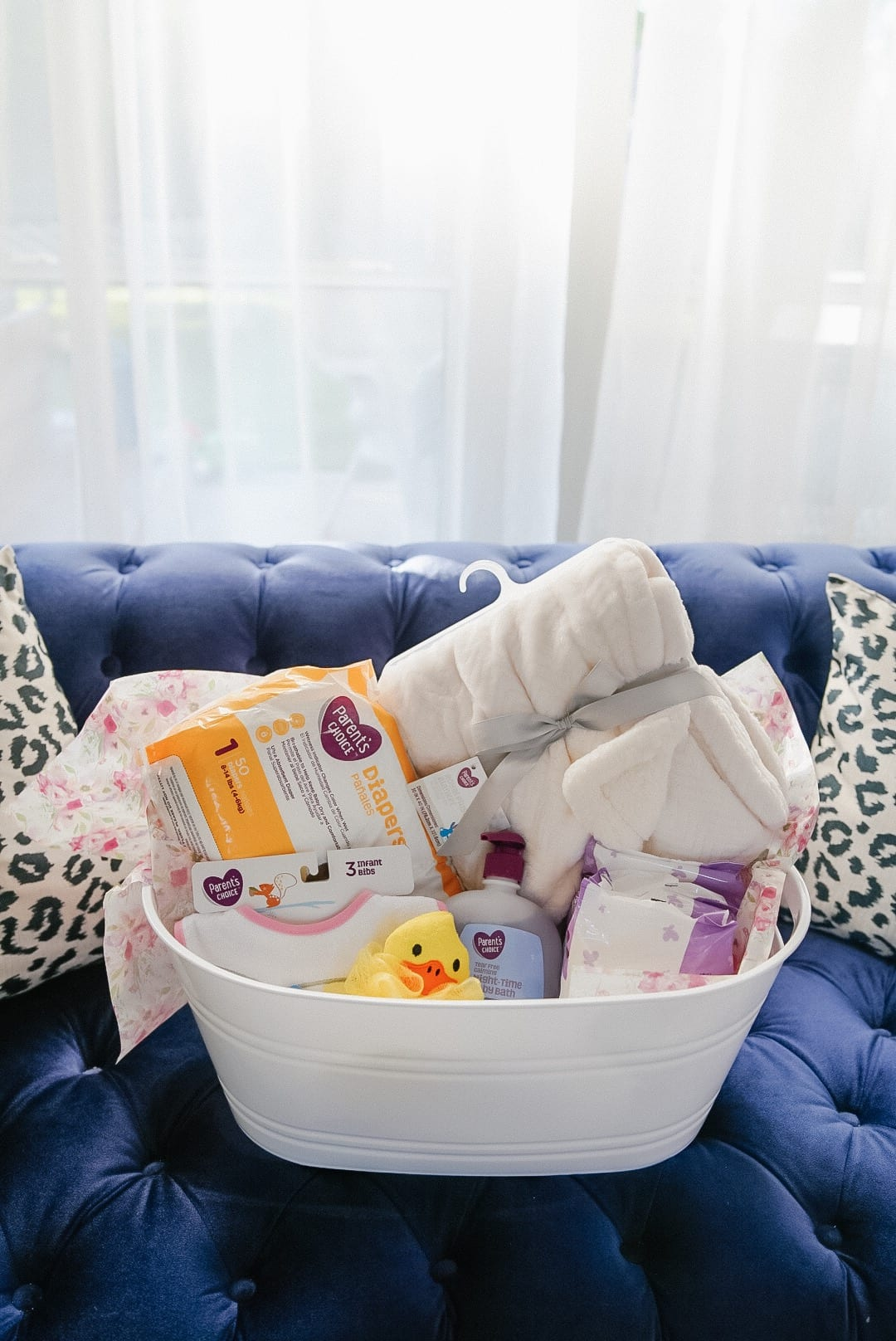 baby essentials, baby shower, baby shower gift basket