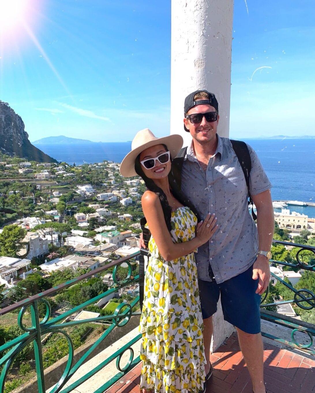 Capri Island views, Capri for couples