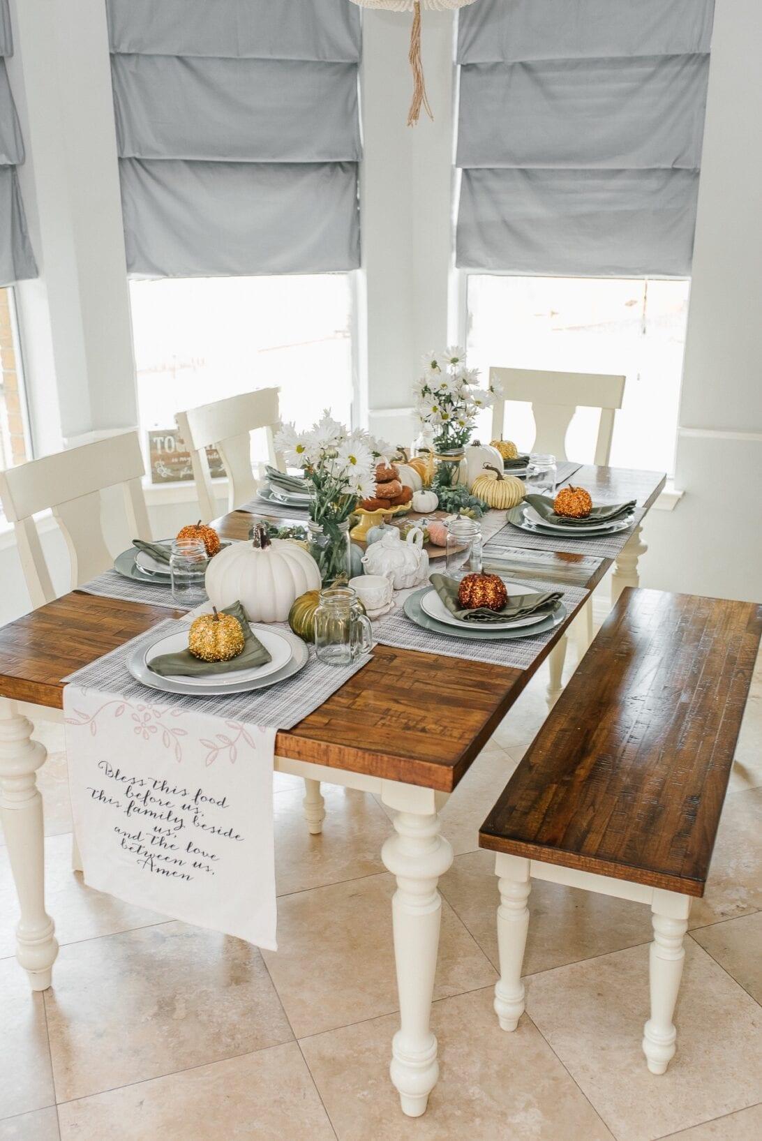 Thanksgiving tablescape, fall home decor, fall decor