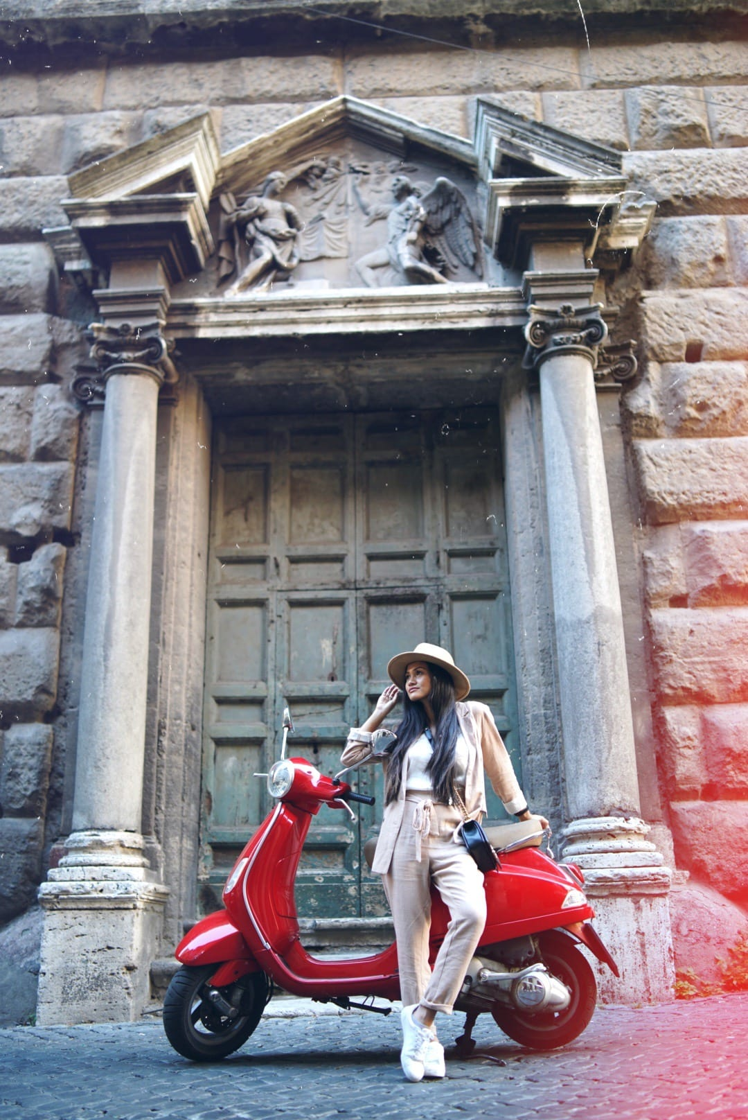 Rome, vespa, red vespa, Houston Mom blogger, Houston fashion blogger