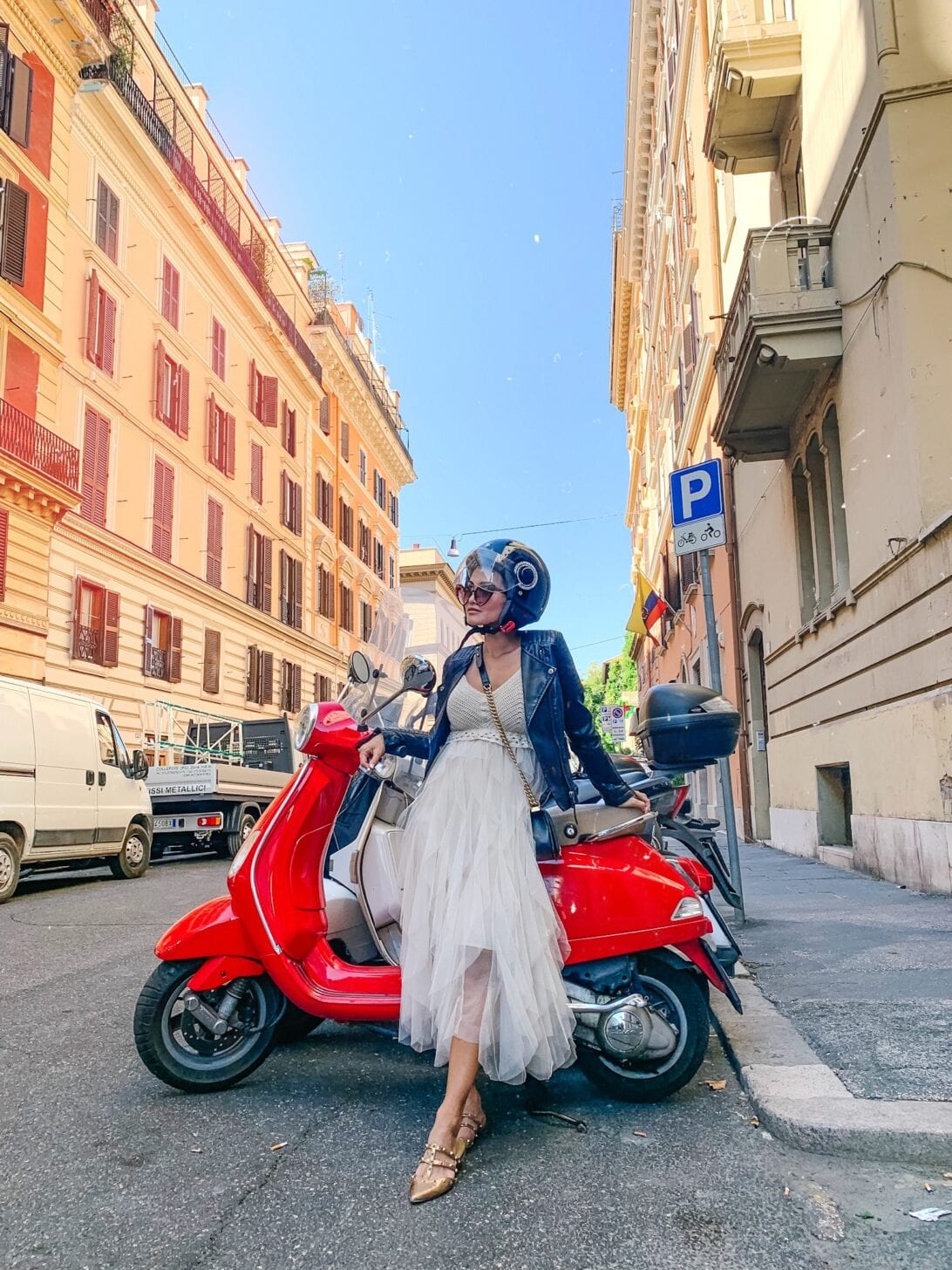 Rome streets, Rome by Vespa
