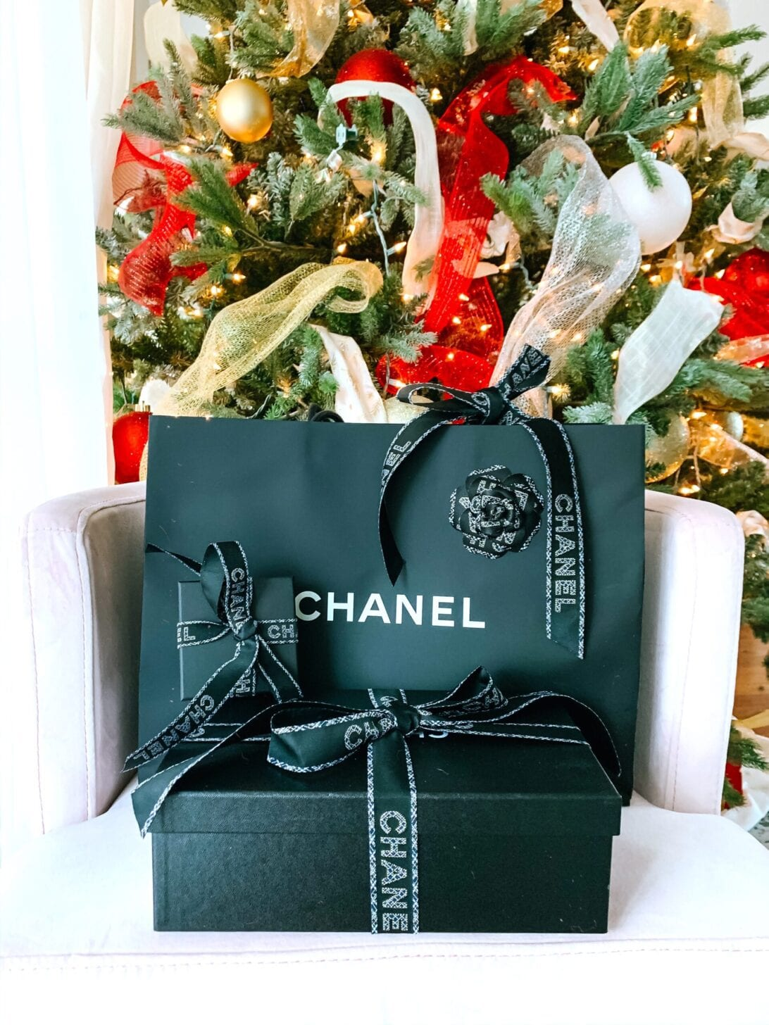 CHANEL BOX, CHANEL BAG, CHANEL CHRISTMAS