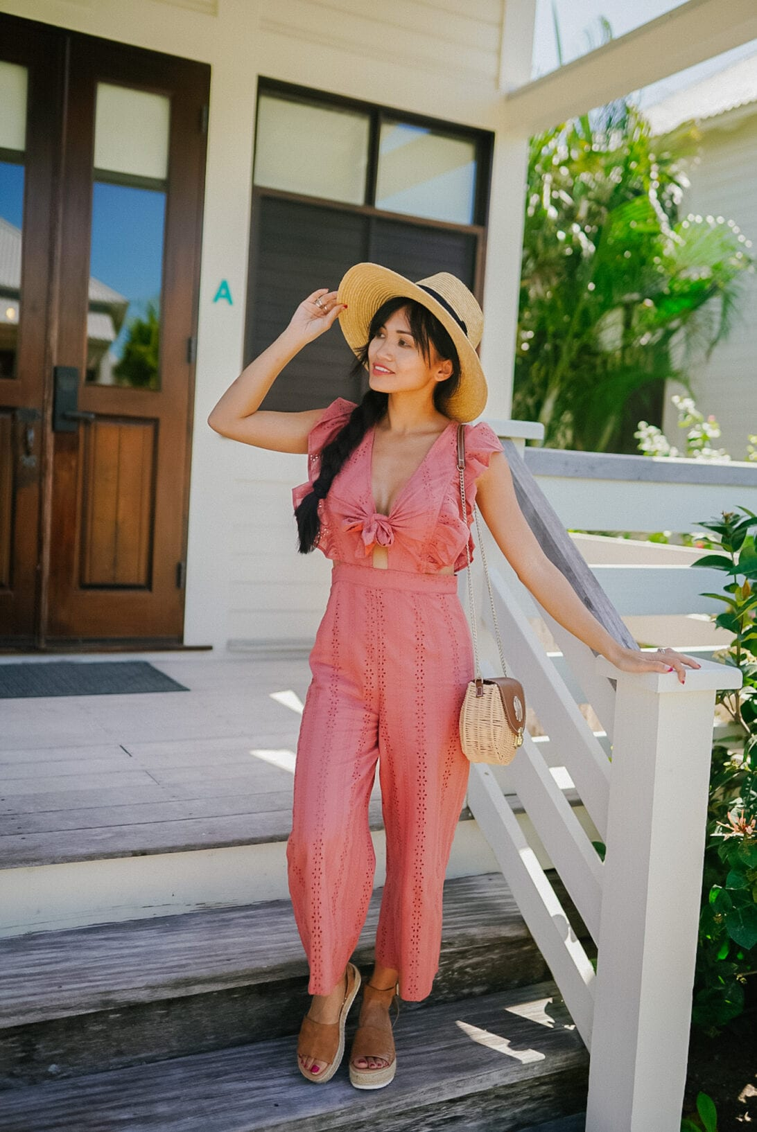 TIE FRONT JUMPSUIT, RED DRESS BOUTIQUE