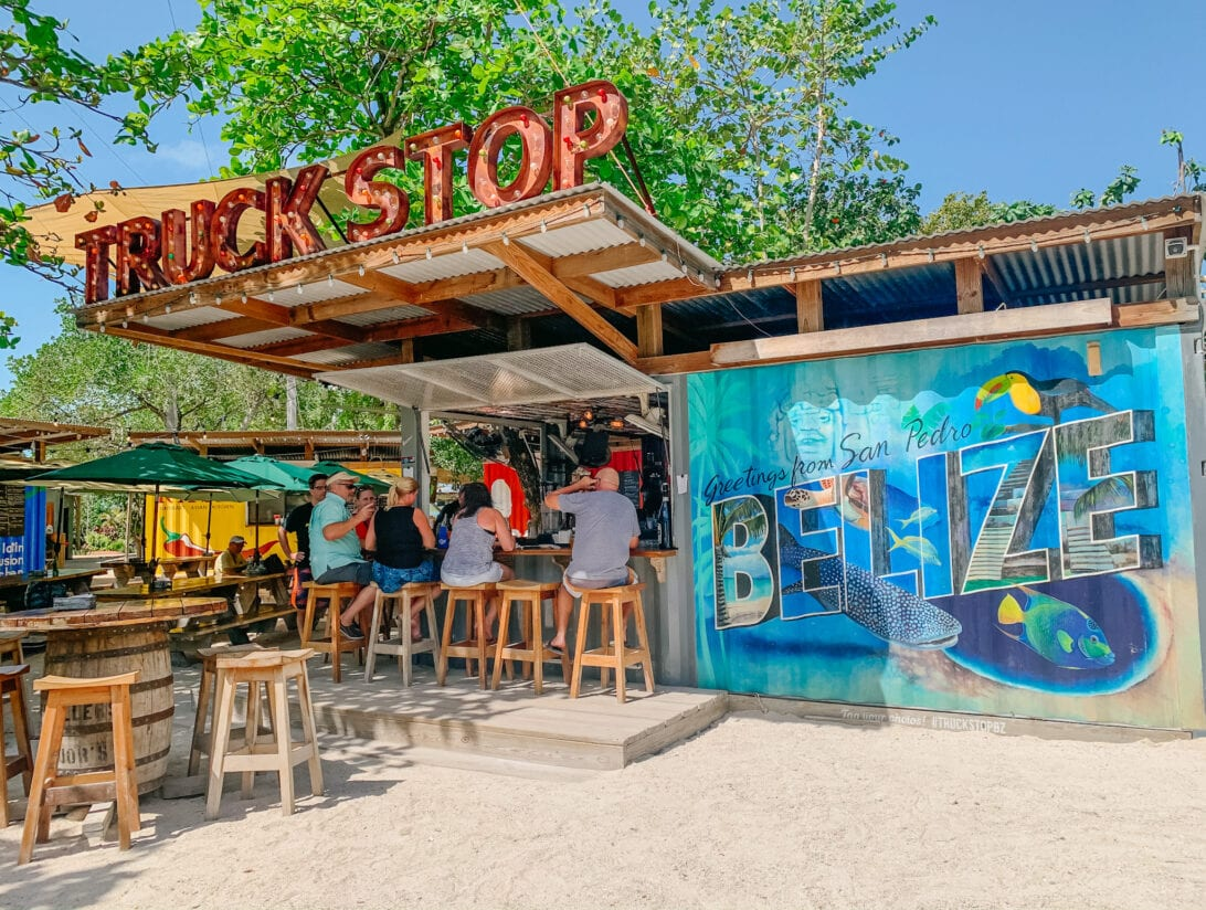 Truck Stop, San Pedro, bELIZE