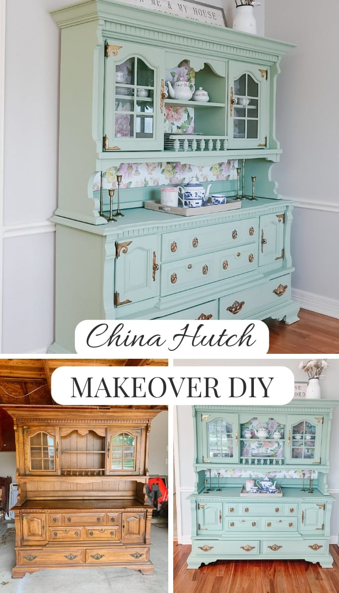 modern farm house, farm house furniture, CHINA HUTCH, FURNITURE DIY, FURNITURE MAKEOVER, PAINT FURNITURE,