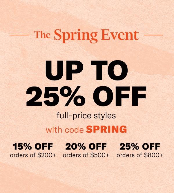 Spring event, Spring sale, spring break, SHOPBOP, SHOPBOP SALE