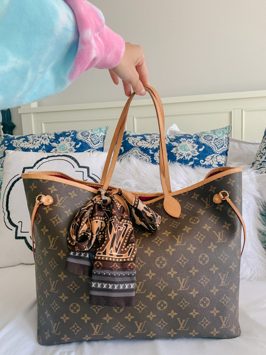 Louis Vuitton neverfull, Louis Vuitton bag review, Louis Vuitton bandeau
