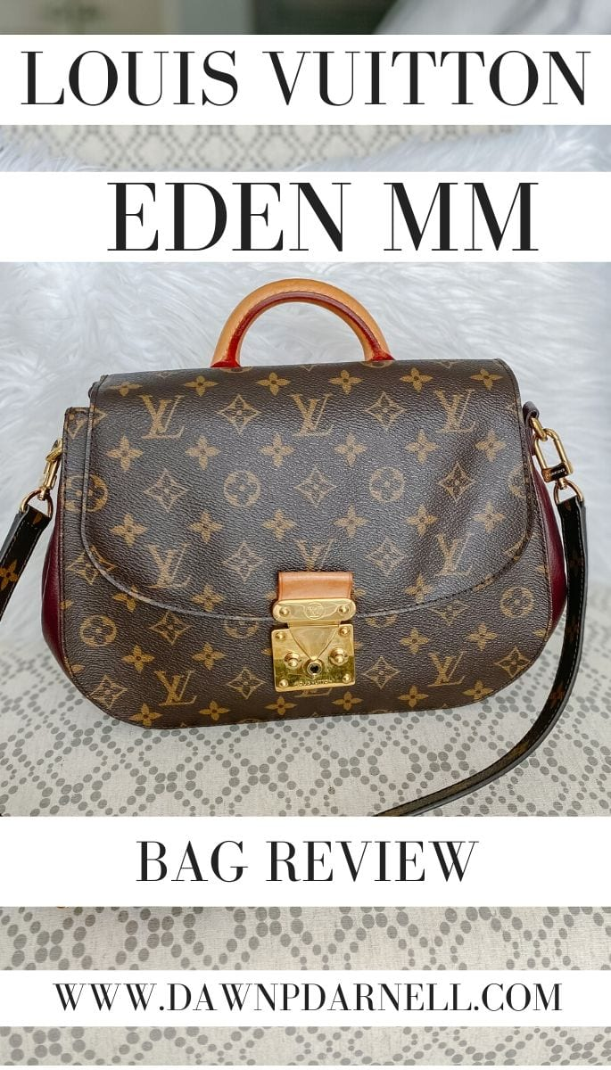 Louis Vuitton BAG REVIEW, Louis Vuitton EDEN MM, Louis Vuitton EDEN, Louis Vuitton HAND BAG, LV BAG, LV MONOGRAM