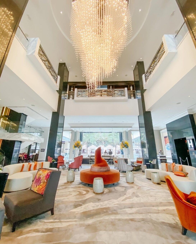 Post Oak Hotel lobby