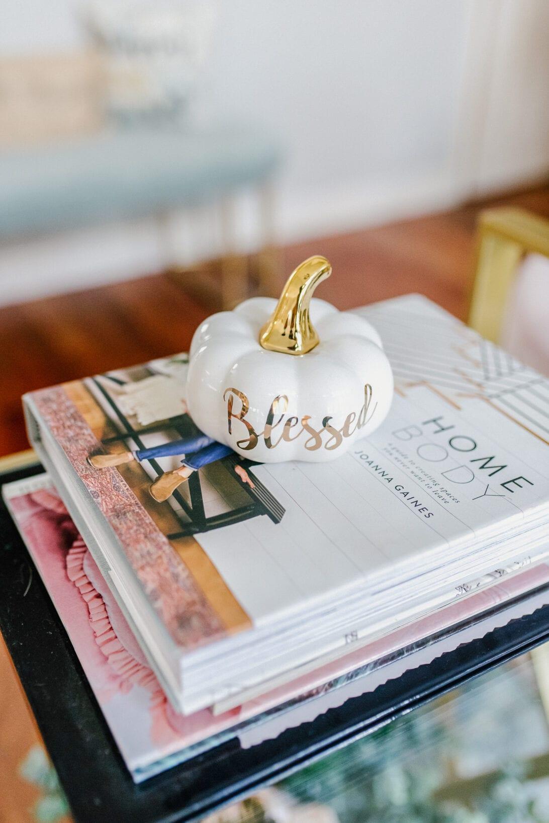 blessed gold pumpkin