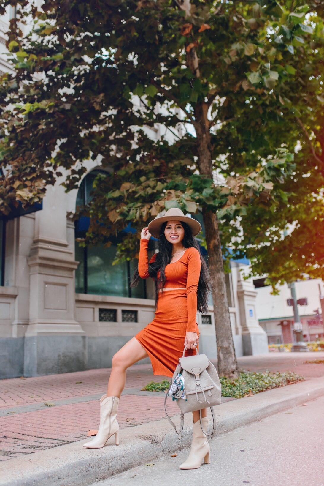 Thanksgiving Outfit Ideas Under $100, Louis Vuitton backpack, Montsouris backpack