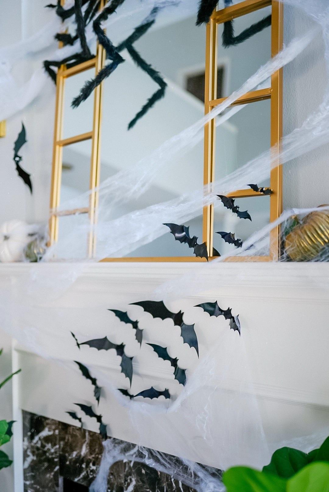 halloween bats decoration