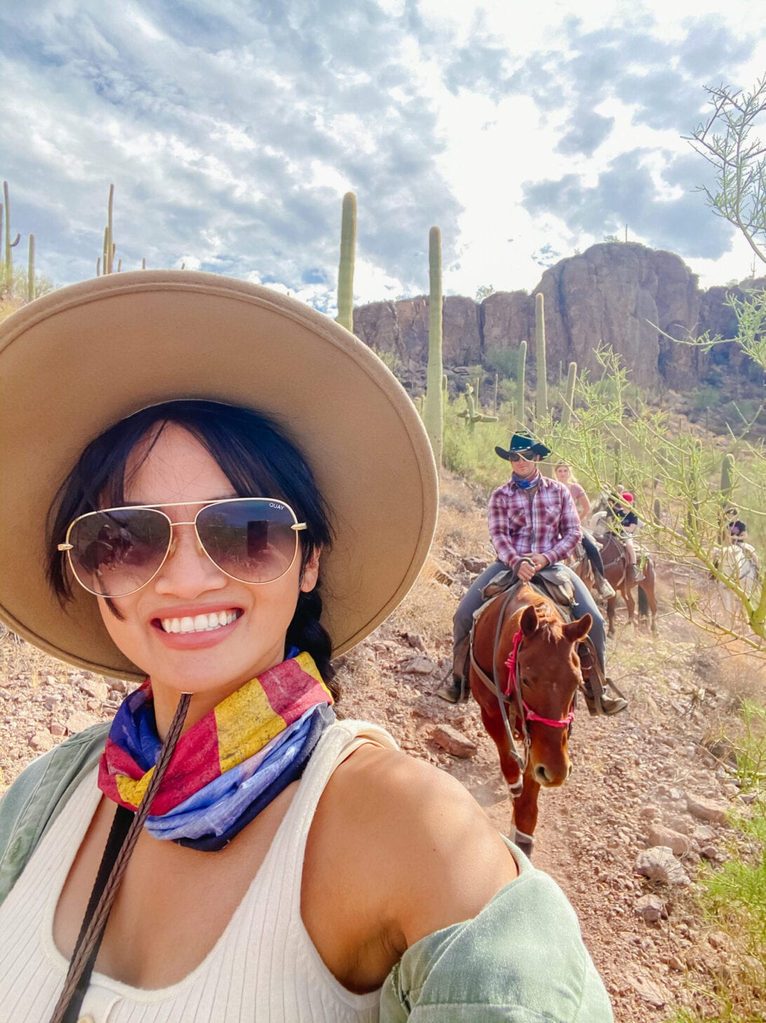 TUSCON, ARIZONA, TRAIL RIDING, DUDE RANCH