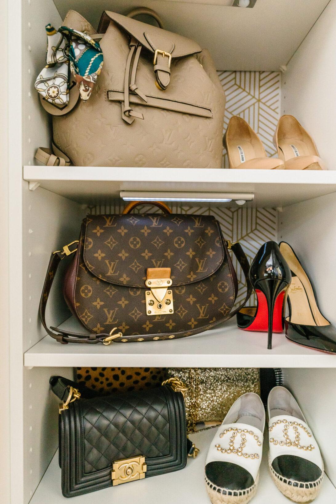 Louis Vuitton BACKPACK, CHANEL BOY BAG, CHANEL ESPADRILLES