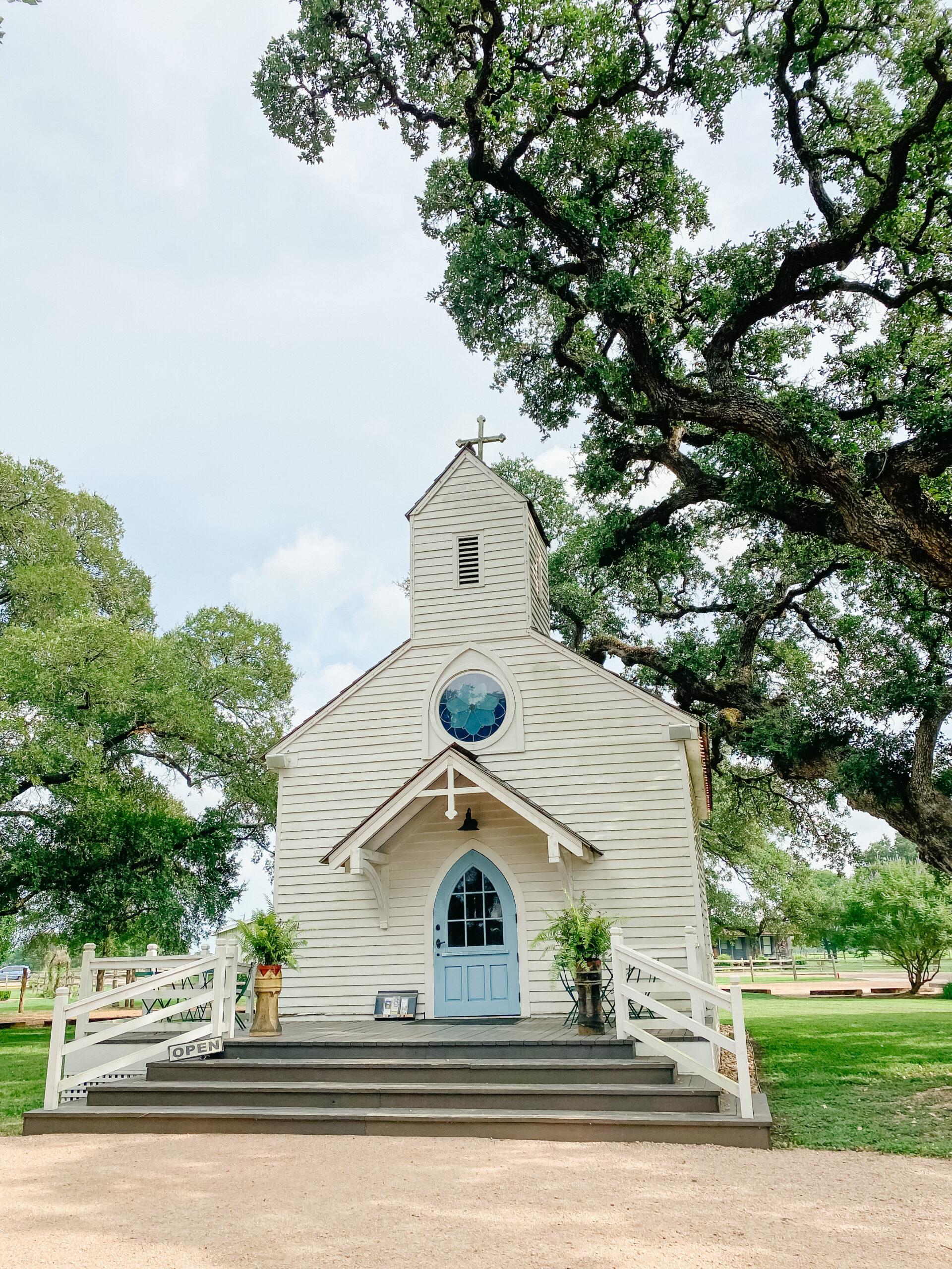 Round Top, Texas, Church